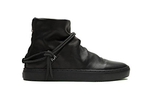 Noires 172038 Nero Lac Bottes Chaussures En Argenté Satorisan Noir Cuir q4ZExT7wd