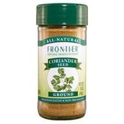 Frontier Herb Organic Bulk Ground Coriander Seed Powder, 16 Ounce - 6 per case