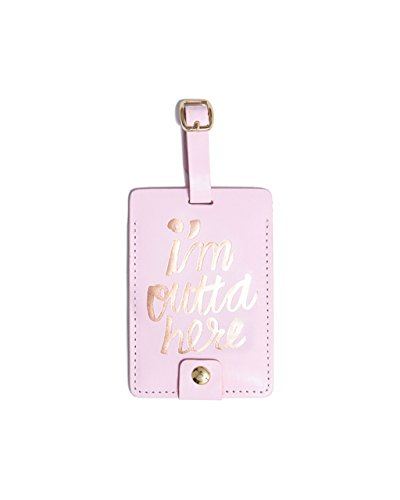 ban.do design The Getaway Luggage Tag - I'm Outta Here (55124) by Bando
