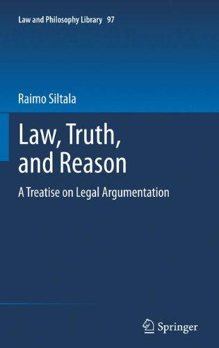 Law, Truth, and Reason: A Treatise on Legal Argumentation (Law and Philosophy Library) by Springer