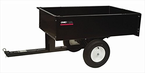 Ohio Steel 3048HKD 10 Cubic Foot Steel Dump Cart