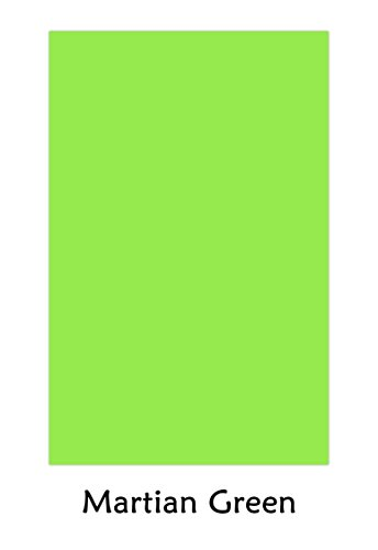 Premium Color Card Stock Paper | 50 Per Pack | Superior Thick 65-lb Cardstock, Perfect for School Supplies, Holiday Crafting, Arts and Crafts | Acid & Lignin Free | Martian Green | 11 x 17