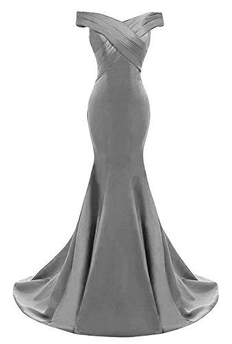 Grey Mermaid Evening Dresses Amazon