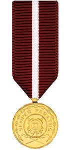 Medals of America Coast Guard Good Conduct Medal Miniature Anodized (Coast Guard Good Conduct Ribbon)
