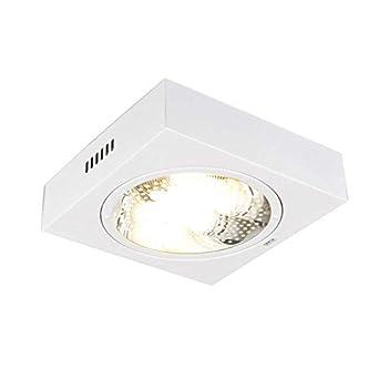 Schön QAZQA Modern Deckenleuchte / Deckenlampe / Lampe / Leuchte Doblo  Quadratisch Weiß/ 2 Flammig