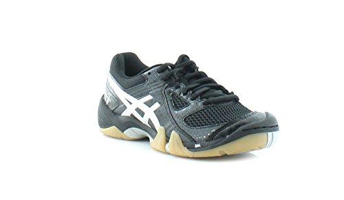 ASICS Women's Gel Dominion Volley Ball Shoe,Black/Silver/White,6.5 M US