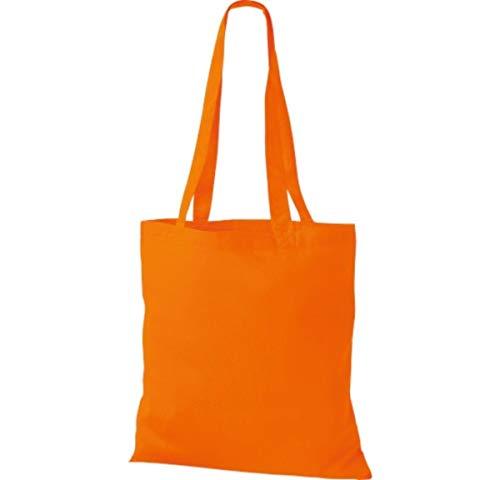 Femme Shirtinstyle Orange Pour Cabas Noir TFnTOqU