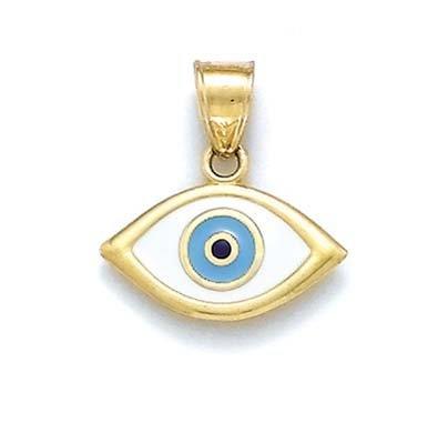 14 carats-Pendentif émail JewelryWeb