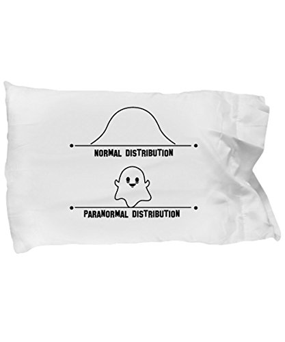 Pillow Covers Design Normal & Paranormal Distribution Math Graph Ghost Funny Gift Pillow Cover Ideas by De Look