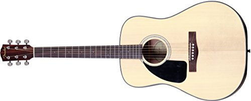 Fender Beginner Dreadnought Acoustic Guitar, Left Handed CD-100 - Natural