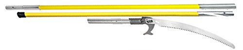 Jameson 12′ Fiberglass Pole Saw Package (FG Series with 15″ Blade) with Quick C