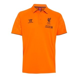 2012-13 Liverpool Warrior Polo Football Soccer T-Shirt Camiseta ...