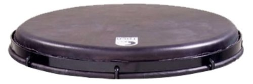 Toca TP-FHMB10 10-Inch Goat Skin Black Goat Skin Head for Mechanically Tuned Djembe ()