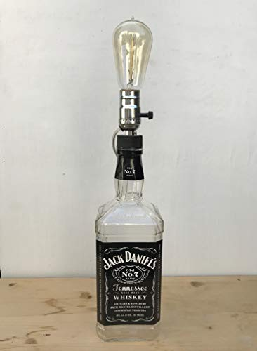 Large Jack Daniel's Table Lamp - Reclaimed 1.75 L for sale  Delivered anywhere in USA