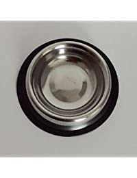 Purchase 1/4 Quart Anti-Skid Stainless Steel Pet Bowl for Puppy Dog Cat Food Water (8 oz) discount