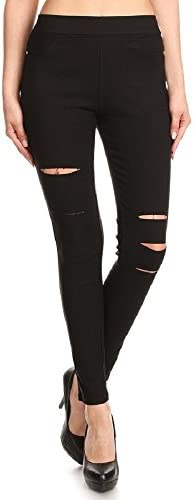 Jvini Distressed Stretch Legging Reg Plus product image