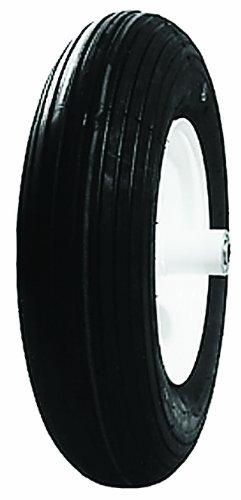 Oregon 72-420 480/400-8 Industrial Wheelbarrow Wheel 2-Ply Rib Tread 2 Ply Rib Tread