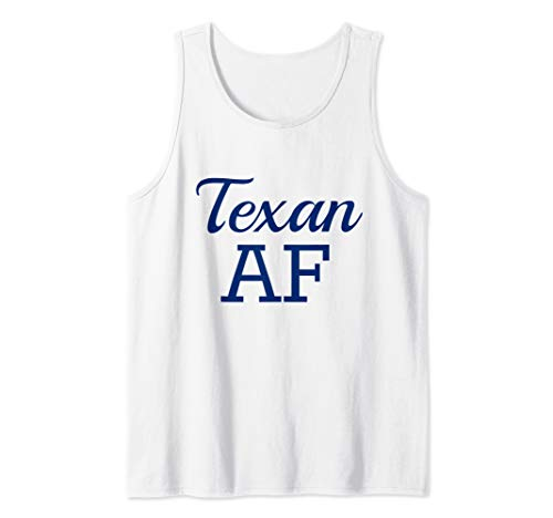 Lone Star Tank - Texan AF Shirt Funny Long Star State Native Texas  Tank Top