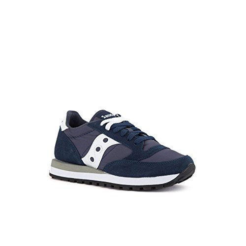 Cross Navy White Saucony de Original Chaussures Jazz Femme YIqqFASw