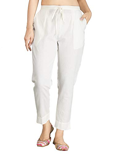 INCOTTONS Premium Rayon Staple Stretchable Trouser(Pant) for Girls and Women