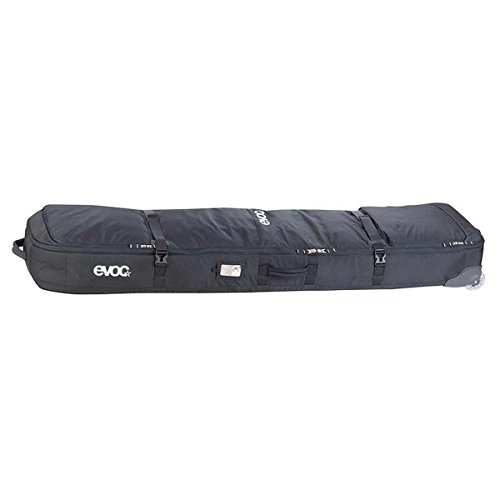 Evoc Black Gear - 110 Litre Snowboarding Roller Bag (L , Black) by Evoc