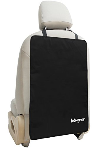 Luxury Car Seat Back Kick Mat Protectors By Lebogner - 2 Pac