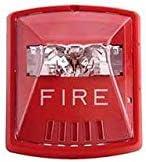 Cooper Wheelock STR Wall Mount Fire Alarm Strobe, Red