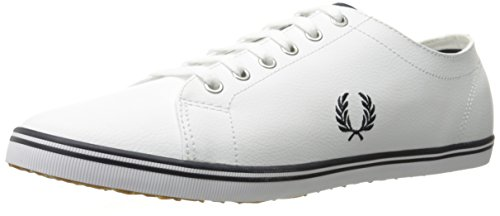 Fred Perry Kingston Leather White B6237U183, Basket