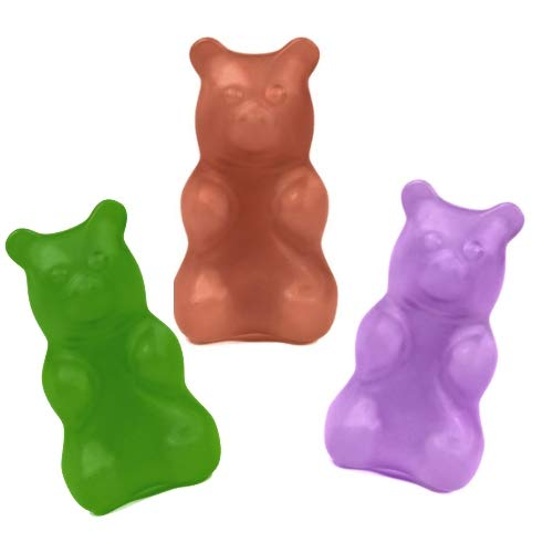 Happy Wax Bear Cave Mix Soy Wax Melts - 3.6 Oz Classic Tin - Cute Bear Shapes Perfect for Mixing in Your Wax Warmer! (Bergamot & Bay, Tobacco & Teak, Leather & Lavender)