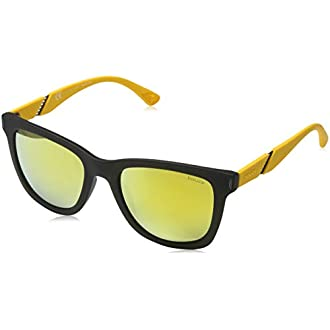 Police Sonnenbrille Spl352 Gafas de sol, Negro (Schwarz), 52.0 para Hombre