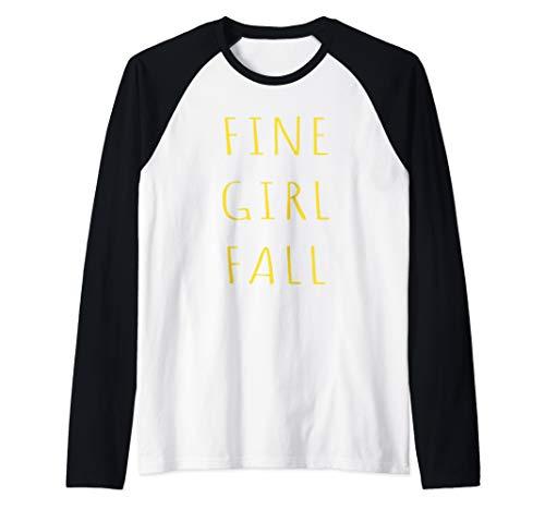College Costume Ideas Girls (Funny Fine Girl Fall Halloween Costume Group Squad Idea Raglan Baseball)