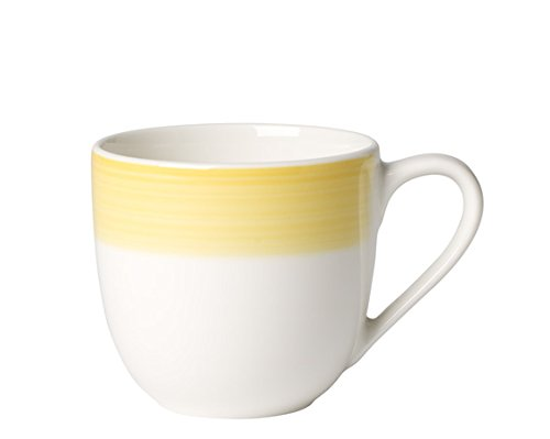 Germany Demitasse (Colorful Life Lemon Pie Espresso Cup by Villeroy & Boch - Premium Porcelain - Made in Germany - Dishwasher and Microwave Safe - 3.25 Ounce Capacity)