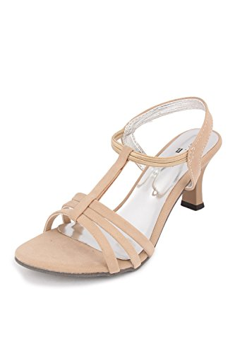 Bell One Womens Cream Leather Casual Sandals 6 UK