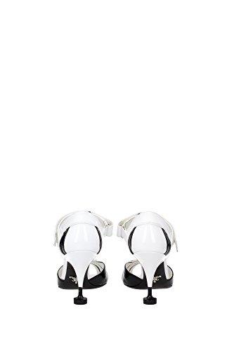 Sandalen Prada Damen - (1X703GBIANCONERO) EU Weiß