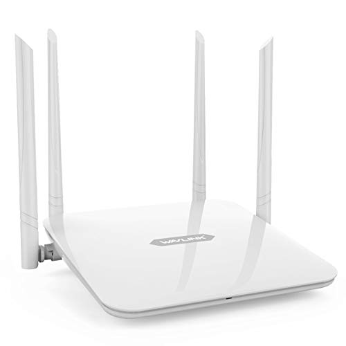 WAVLINK WiFi Router/High Speed WiFi Range Extender/Coverage Up to 1200Mbps with 5GHz Gigabit Dual Band Wireless Internet Router[2019 Upgrade] (Best Home Router 2019 Under 100)