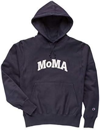 Champion フーディー MoMA Edition L ネイビー