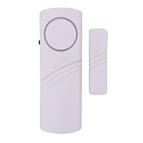 eDealMax Fentre de scurit personnelle Porte Morei Systme d'alarme sans fil blanc 120dB