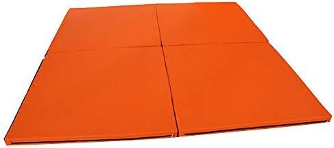 折り畳みエクササイズマット、パネル厚PUレザー、軽量ホームジムタンブリングマット、ジムフィットネス用ヨガエクササイズ体操エアロビクスフィジカルトレーニング