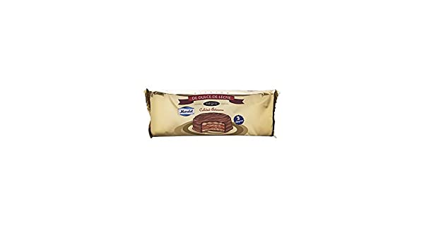 3 x Chocolate Alfajores Mardel (dulce de leche sándwiches para galletas): Amazon.es: Hogar