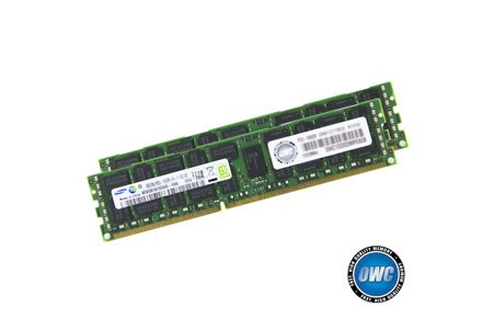 OWC 16.0GB (2 x 8GB) PC8500 DDR3 ECC 1066 MHz 240 pin DIMM Memory Upgrade Kit For 2009 Mac Pro and Xserve by OWC