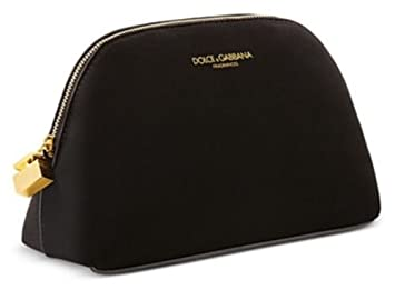 0b51cf8741 Image Unavailable. Image not available for. Colour  Dolce   Gabbana Beauty  Black Velvet MakeUp case Cosmetic Pouch ...