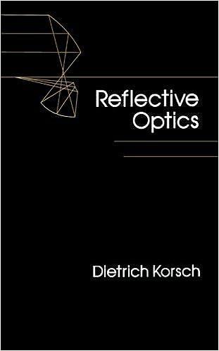 Reflective Optics by Korsch, Dietrich (1991)