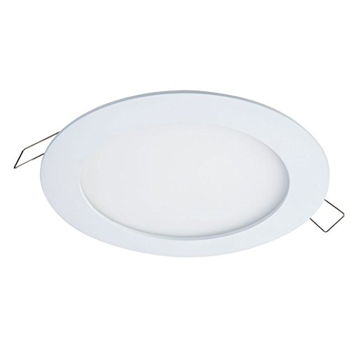 Halo SMD4R6935WHDM SMD 4'' Integrated LED Recessed Round Trim Downlight Direct Mount 90 CRI 3500K CCT, White