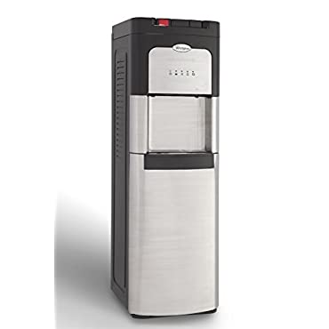 Whirlpool 8LIECH-SC-SSF-P5W Self Cleaning Stainless Bottom Load Water Cooler with LED Indicators