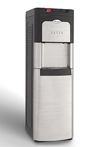 Whirlpool 8LIECH-SC-SSF-P5W Self Cleaning Stainless Bottom Load Water Cooler with LED indicators,40.5in x 12.6in x 15in by Whirlpool