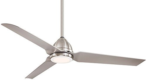 Minka Aire F753L-BNW 54in Java Led Outdoor Ceiling Fan by Minka-Aire