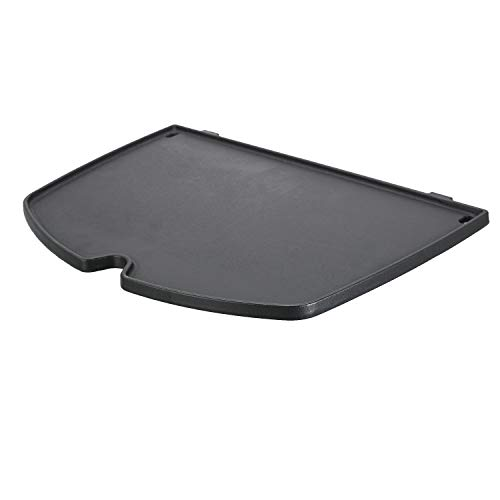 - QuliMetal 6559 Cast Iron Griddle Accessories for Weber Q 2000 Series Gas Grill