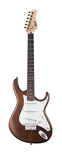 Cort G Series G100 Electric Guitar, Open Pore Walnut