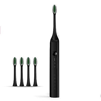 Cepillo de dientes eléctrico para adultos recargable sonic hogar suave hombres y mujeres super impermeable impermeable