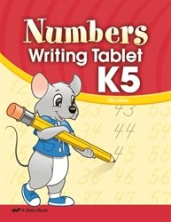 - Numbers Writing Tablet K5